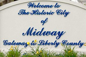 midway sign