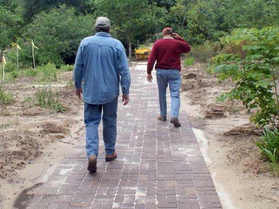 path walking