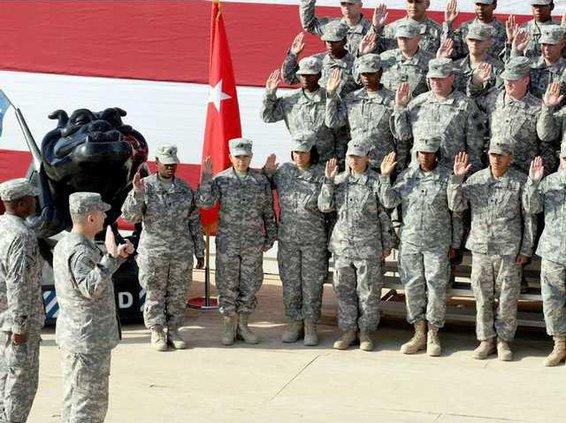 54 soldier reenlist