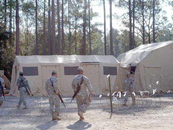 UE sleep tents