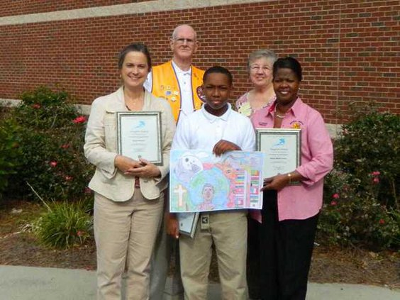 1223 Lions Club poster contest