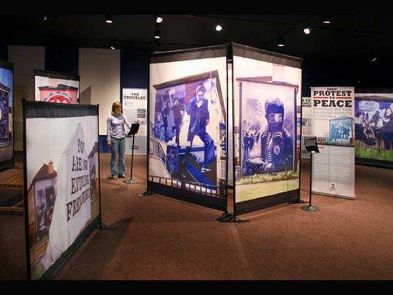1230 GSU museum exhibit