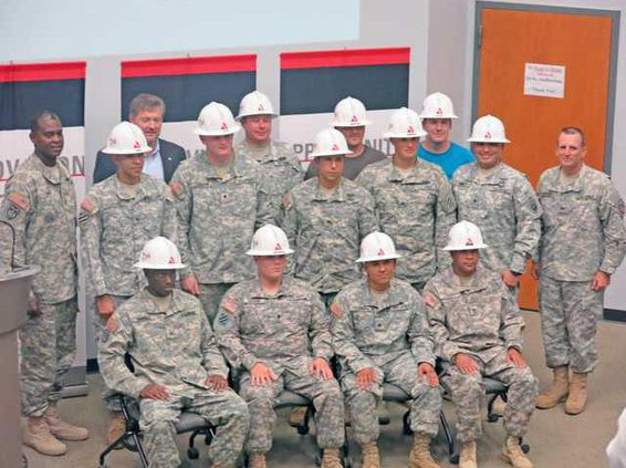 12 soldiers completed GA Power training program now employees