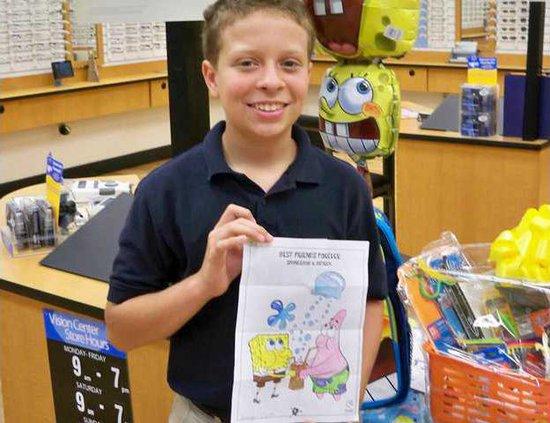BIZ walmart coloring winner