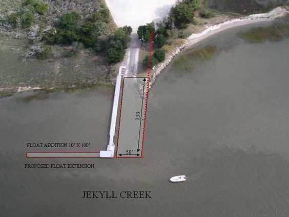 Jekyll Boat Ramp Renovation