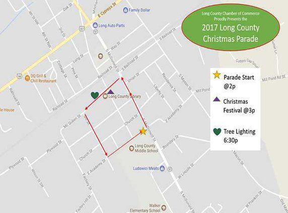 Parade Route and Info