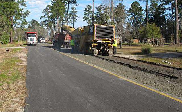 Pavement replacement on Bright Lake Rd 004-1