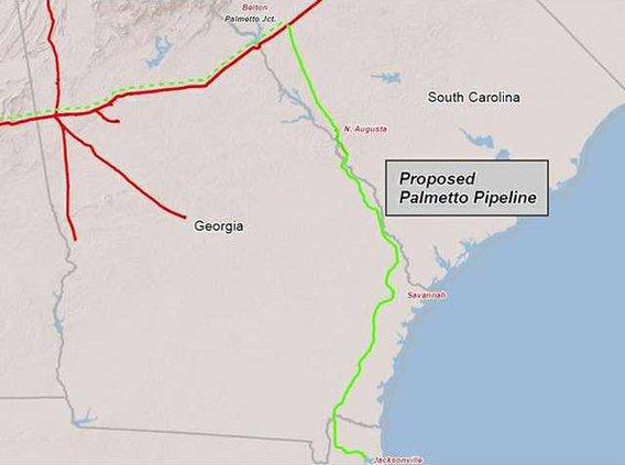 palmetto pipeline project