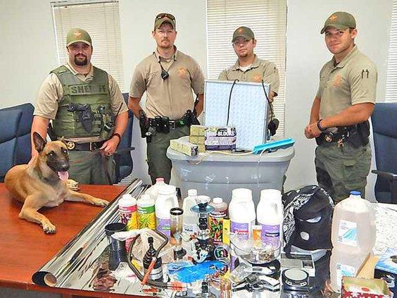1 Drug Arrest in Long Co for Sun 8-16