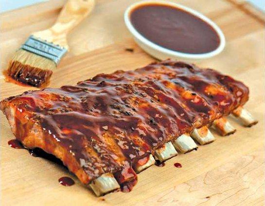 BBQ ribs yum
