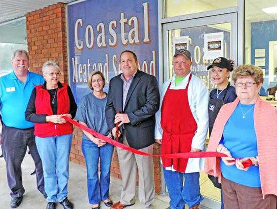 Coastal Meat  Seafood Ribbon Cutting 23