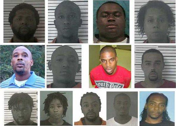 MACE arrests 13 as belonging to gang - Coastal Courier