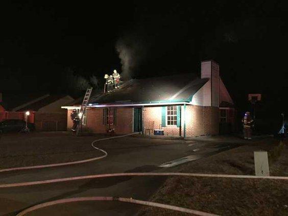 Hville house fire