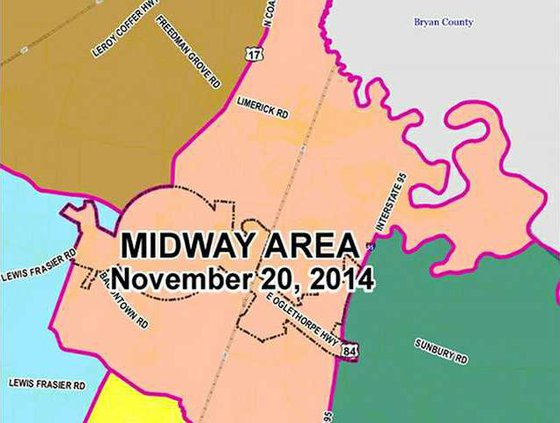 Midway map