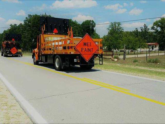 Pic 1-Joe Kennedy Road  Restriped