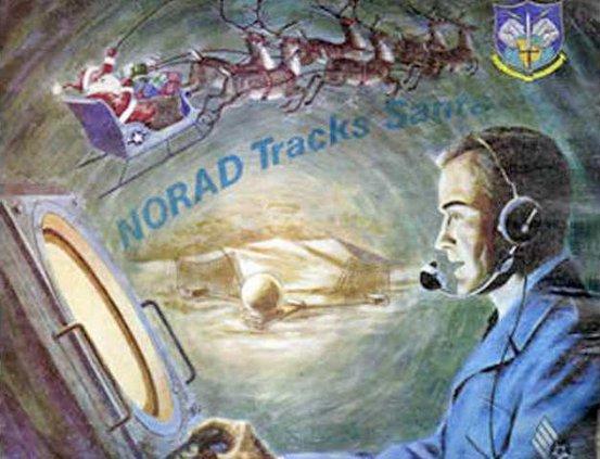 hrs NORAD tracks santa