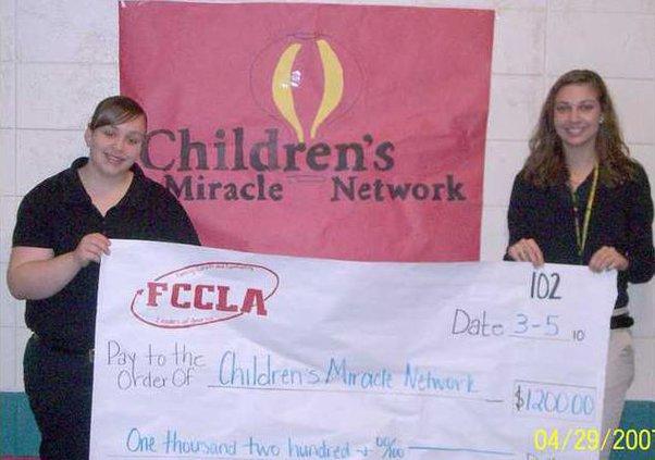 0414 FCCLA network donation