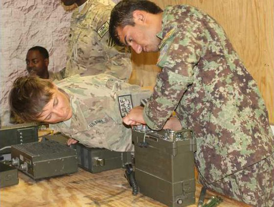 ANA radio training