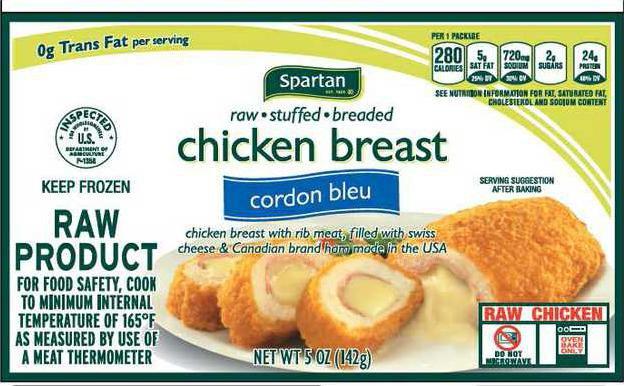 Aspen Foods recall example