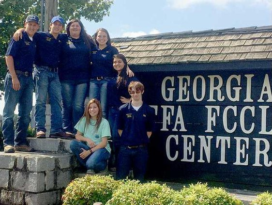 Long County FFA Officers Attend Conference