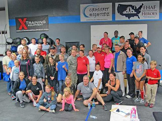 Mike Vito cross fit group shot
