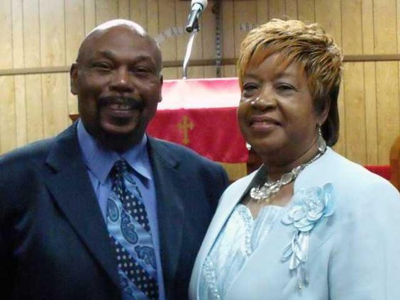 Pastor James Evans and his wife Minister Joan Evans