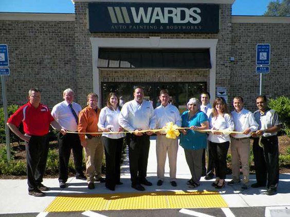 Ribbon Cutting - Wards Auto Painting and Bodyworks