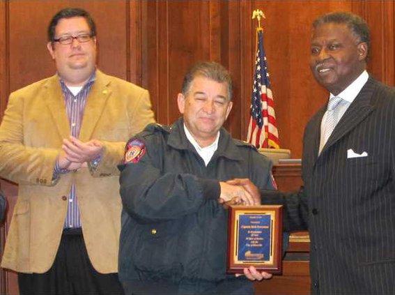 Rick Perryman retiring Fire Marshal1