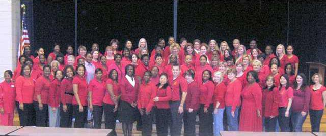 Wear Red Day 2009-2010