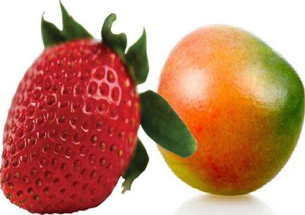 berry and mango
