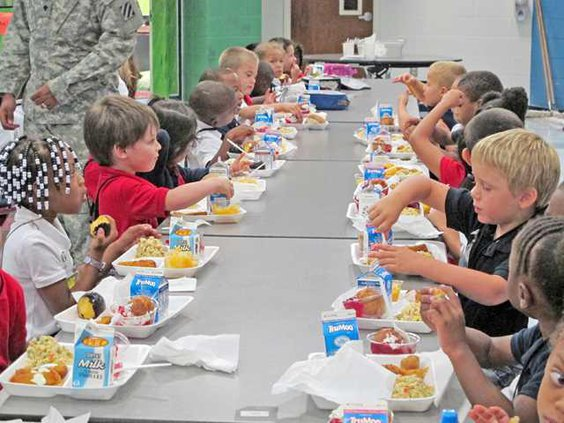 school lunch week 1
