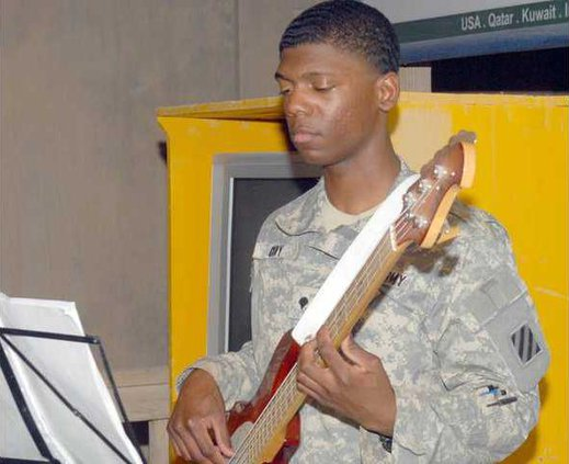0411 3rd ID guitar player