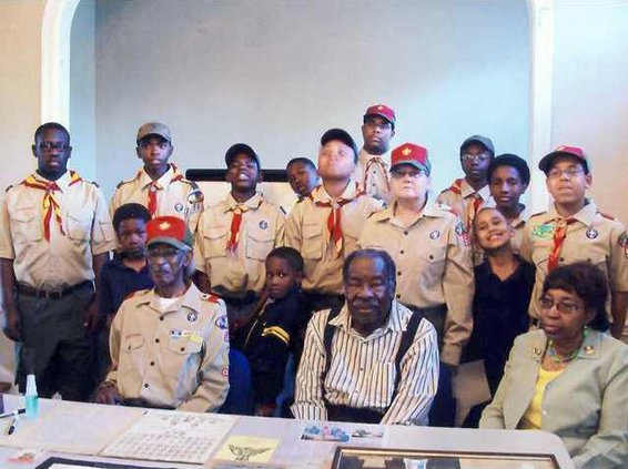0509 Boy scouts dorchester