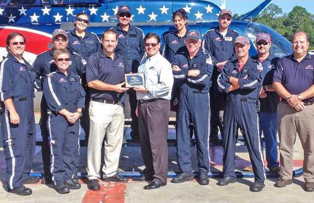 Air Evac honor