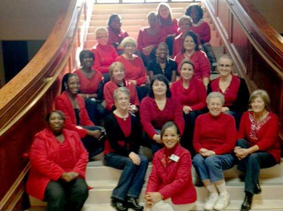 LCSS wears red