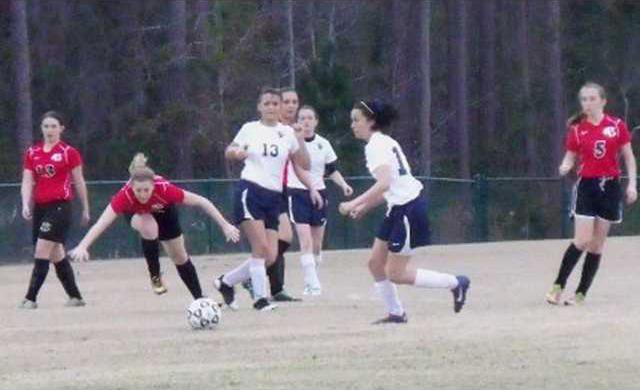 Long Co v Bryan Co girls soccer game