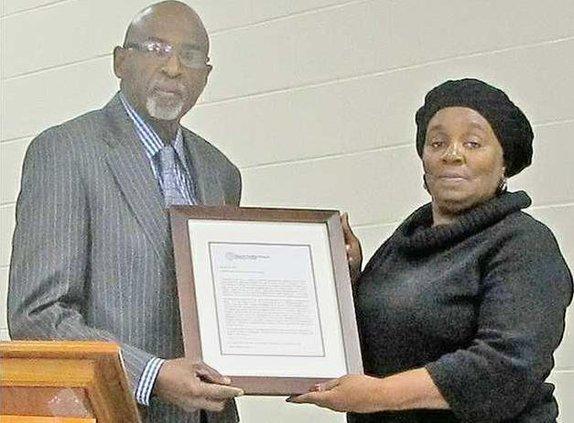Long MLK honors