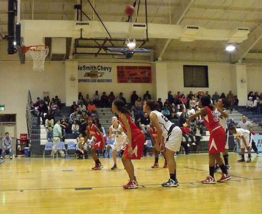The Lady Tide had a long night this past Friday losing to Toombs 45-25