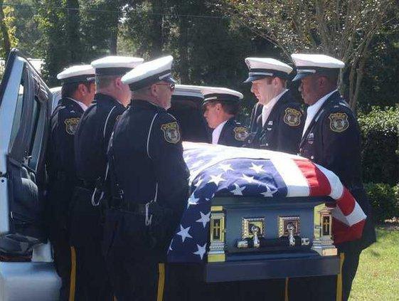 PB take Trombley casket