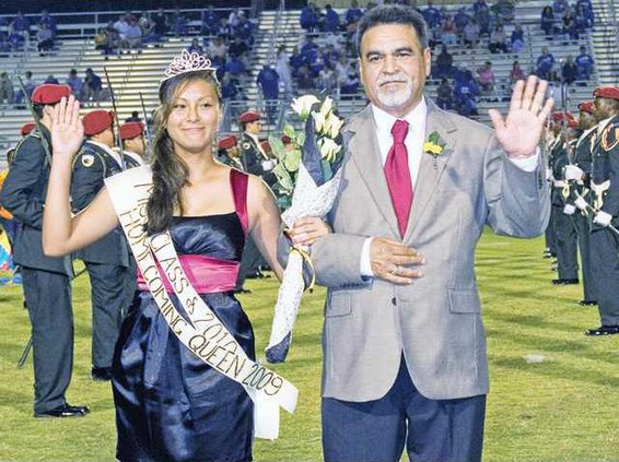 1011 LCHS homecoming queen
