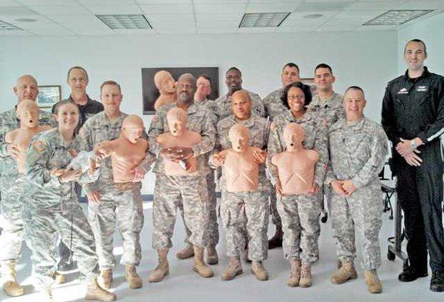 Air Evac CPR training