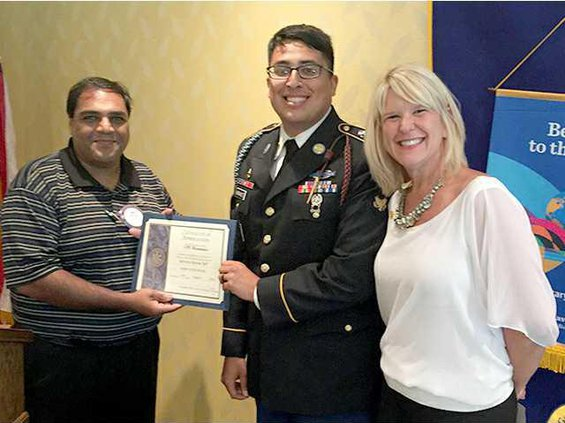 Rotary Soldier of the Month