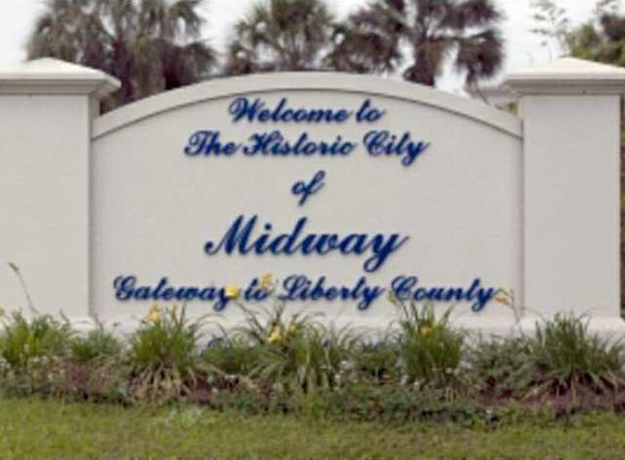 mdiway welcome sign
