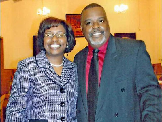 Scott and Rev Ashley Morris