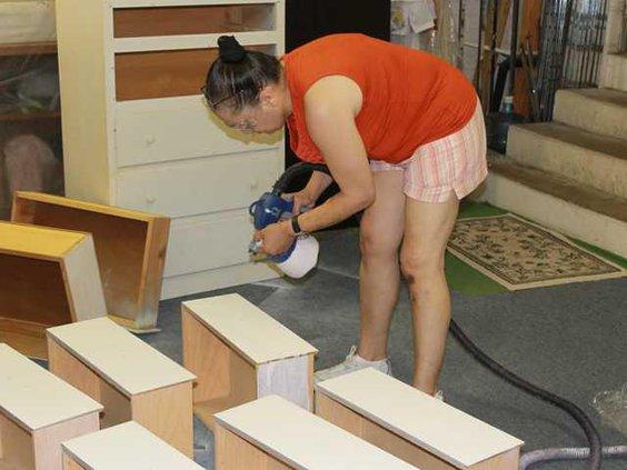 0817 Furniture refurbishing