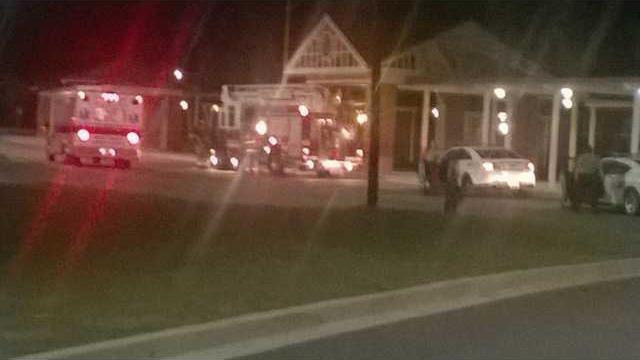 McAllister fire trucks