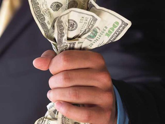 dollars fistful
