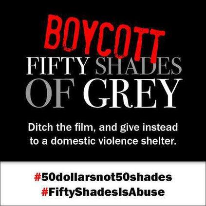 Boycott 50 Shades of Grey