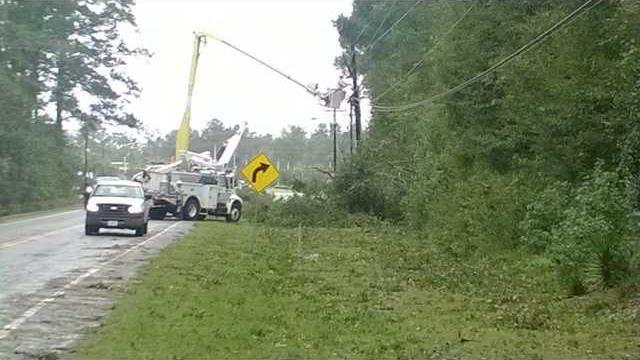 Power crews