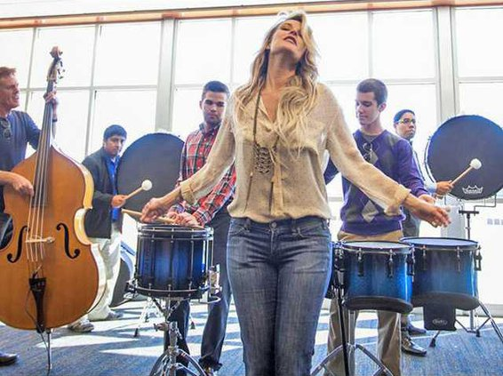 Southern Pride and Elizabeth Cook rehearsal 1 copy